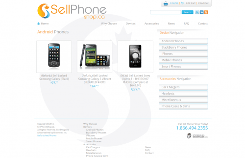 Sell Phone Shop