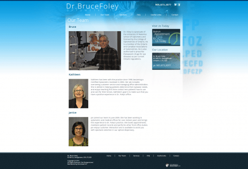 Dr. Bruce Foley _ Our Team