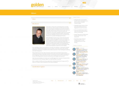 Golden Venture Partners _ About