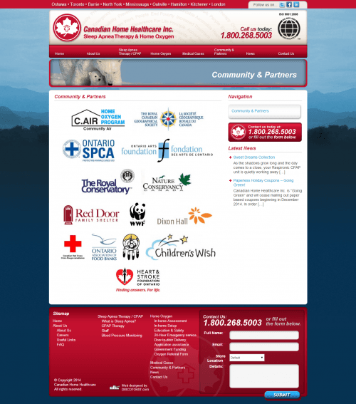 canadian home healthcare _ Community   Partners