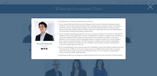 Whitecap Venture Partners   team