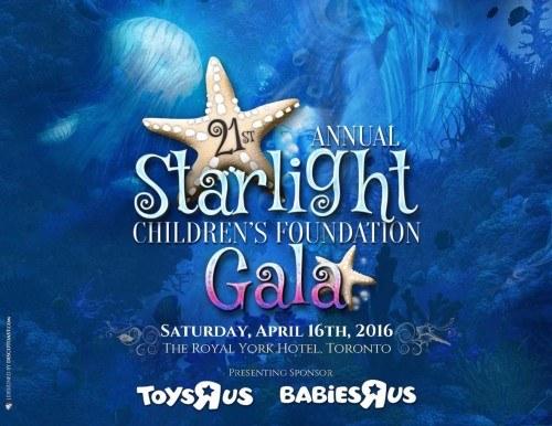 Starlight Children's Foundation Gala 2016 Program Cover