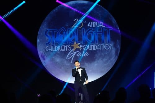2018 Graphic Design- Starlight Childrens Foundation Annual Gala Stage Design