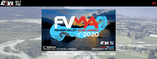 FVMA Homepage Screenshot